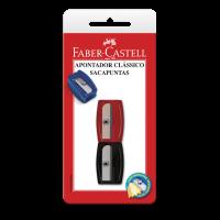 Apontador Cl�ssico Faber-Castell Mix Ctl c/ 2 Unid (24 Ctl/cada) - SM/060100ZF