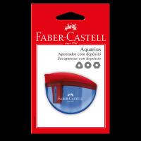 Apontador com Dep�sito Faber-Castell Aquarius Ctl c/ 1 Unid (12 Ctl/cada) - SM/AQUARIUS