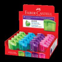 Apontador com Dep�sito Faber-Castell Clickbox (20 Unid/cada) - CLICKBOX