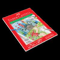 Bloco Faber-Castell Max Desenho 140gr 20 fls A4 (5 Unid/cada) - BLCDES/A4