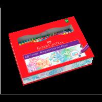 Caneta Ponta Porosa Faber-Castell Fine Pen Colors 60 Cores (1 Es/cada) - FPB/ES60ZF