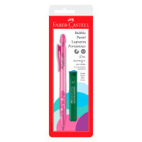 Lapiseira Faber-Castell Bubble 0.7mm Rosa Ctl c/ 1 Unid (24 Ctl/cada) - SM/07BBRS