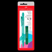 Lapiseira Faber-Castell Bubble 0.7mm Verde �gua Ctl c/ 1 Unid (24 Ctl/cada) - SM/07BBVA