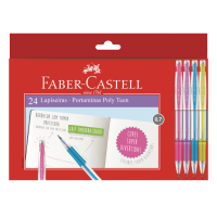 Lapiseira Faber-Castell Poly Teen 0.7mm (24 Unid/cada) - LP07T