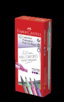 Lapiseira Faber-Castell Tri Shape Colors 2.0mm Mix (12 Unid/cada) - LP20TSCMIX