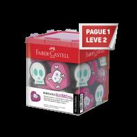 Leve 2 e Pague 1 Borracha Faber-Castell Caveirinha (40 Unid/cada) - 7024CAV