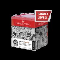 Leve 2 e Pague 1 Borracha Faber-Castell Doodle (40 Unid/cada) - 7024DOD