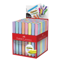 Marca Texto Faber-Castell Grifpen Tons Pastel Cores Sortidas (70 Unid/cada) - MT/70TPZF