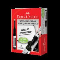 Marcador Quadro Branco Faber-Castell Preto (12 Unid/cada) - OFR/522RFPR